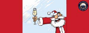 Christmas Social Drinks and Dirty Santa Fun @ QT Rooftop