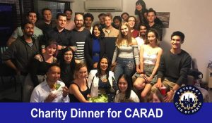 Rotaract Perth Charity Dinner for CARAD @ Perth CBD